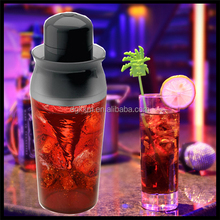 Customized Logo Promotional Protein Cocktail Power Shaker cup, chocolate milk blender, Martini shaker Bar Set Gift