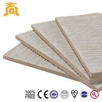 Imitation Wood Texture Light Weight Concrete Fiberboard Siding
