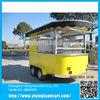 Steet vending machine food cart/trailer/van/kiosk mobile camper trailer