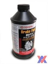TOYOTA DOT 3 BRAKE FLUID