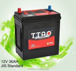 38B20 MFlead acid car Battery solar battery charger for car