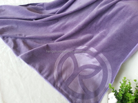 microfiber bath towel fabric with emboss printing