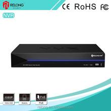4/8ch 1080P HDMI/VGA output 1/2 SATA HDD P2P real-time surveillance IPC NVR with POE onvif 1080P NVR