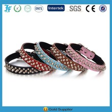 Wholesale Multi Colors Spiked Pet Dog Collar Leather Dog Collars