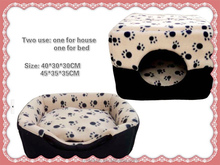 Two Used Pet House Pet Bed