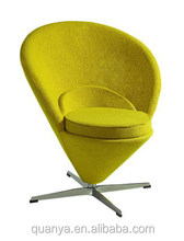 Sweety heart chair/Verner fiberglass cone chair/Verner lounge chair