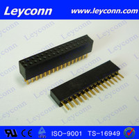 1.27mm pitch Pin Socket connector SIP Socket PCB connector