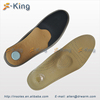 factory price foot arch support insole, leather insole