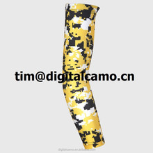 Digital Camo sleeve Compression Sports Arm Sleeve Moisture Wicking softball, baseball ,cycling sleeve