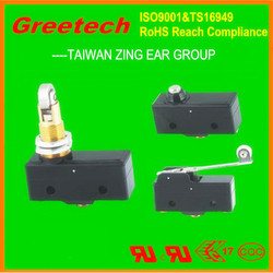 zing ear UL listed micro limit switch, micro limit switch t125 5e4, elevator magnetic switch