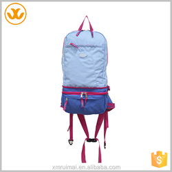 Fashion outdoor custom double shoulder strap sport backpack type bag