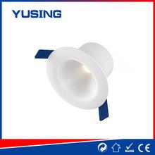 Gymbal style PF0.5 175-265V white plastic gimbal LED downlight 5w down light bedding