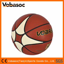Standard Size Outdoor Basketball Laminated Basketball