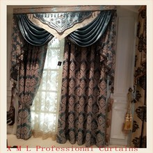 Roma design fabric window curtain for living room