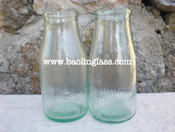 drinking water glass bottle in private label ////BPA Free Borosilicate Glass Creative Custom Design Water Bottle