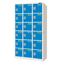 customized colorful digital lock power coated changing room gym used /electronic storage steel locker for gym use