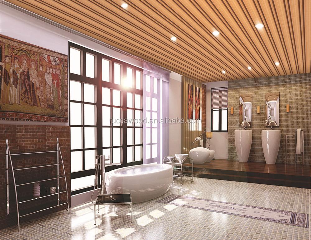 WPC Fauxwood moderne dekoration/Wasserdichte holz kunststoff bad ...