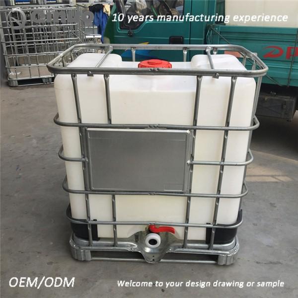 Tanque de 1000 litros ibc recipientes para armazenamento Estanque ibc 1000 litros