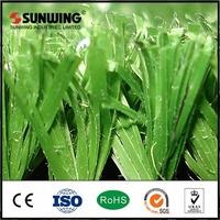 Natural indoor soccer field fake grass turf