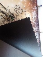 100% PVC free, Fire retardant,grey back,polyester banner fabric