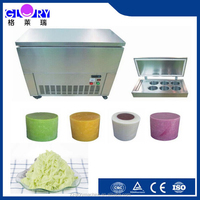 heavy Duty 6*2.2L Ice Cream Making Machine Snow Flake Ice Maker with CE certificate for sale