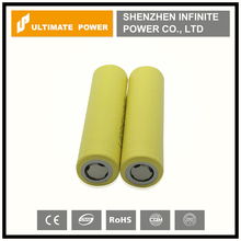 Crazy selling wholesale yellow lg 18650 high drain battery/18650 lg he4 2500mah 3.6v rechargeable battery