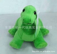 """Tortoise soft toy green color 6"""""""