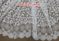 2015 latest high quality orange nigerian african cord lace/ cord-lace-fabric/ lace cord