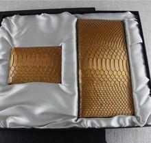 Trade assurance python skin credit card passport holders case set