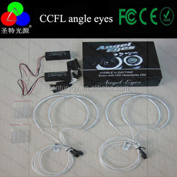 PC cover CCFL Angel Eyes 60mm to 160mm with DC 12V driver inverter angel eye projector lens