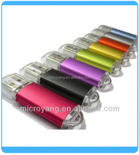 Fashionable bright color usb flash drive,factory customize usb stick,aluminum pendrive with high quality,