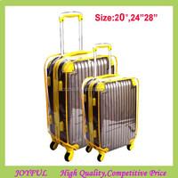 Stock!! 2015 Fashion PVC transparent luggage suitcase cover