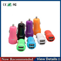 New product universal dual USB car charger with 12-24V in car charger for samsung galaxy s5 charging station from china supplier