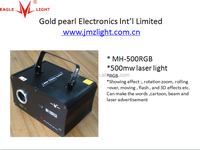 china 500mw RGB laser light factory from eaglelight