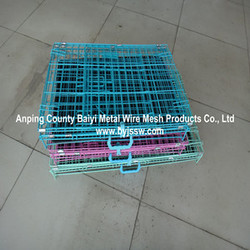 Large Dog Cage For Sale , Easy Assembled Dog Cage ,Folding Cage