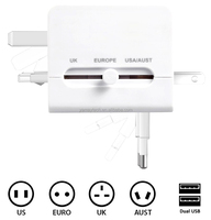 Generic+universal+World+Travel+adapter+110v-250v+Ac+Power+Socket+Plug+Adaptor+with+5v+USB+Port+Power+Converter+Free+shipping