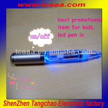New promotional electric pen led flashlight