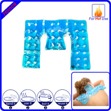 Self activated gel massage heating pads