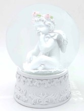 Angel Design Home Decoration Resin 45mm Water Globe