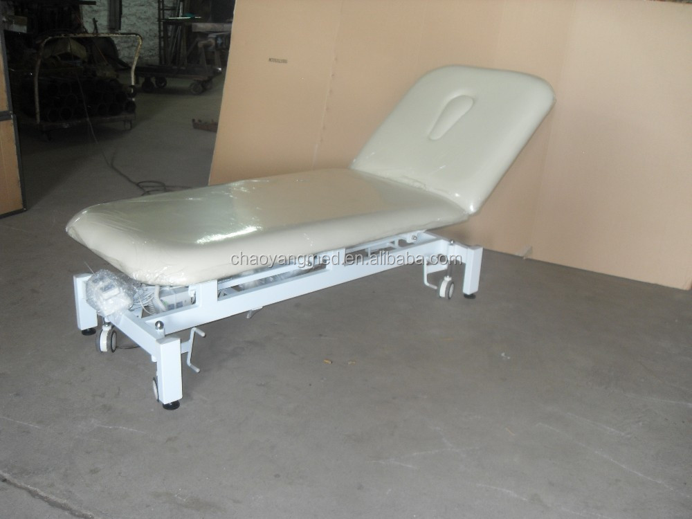 Beauty spa electric facial bed electric treatment table for Beauty treatment bed