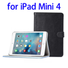 Newest Products with Card Slot Leather Protective Case for iPad Mini 4