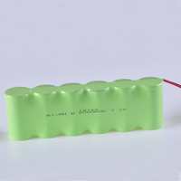 NI-MH Rechargeable D 8000mAh 7.2V battery pack for Electric bicycles /shaver/vacuum cleaner