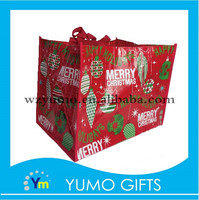 vogue christmas packaging non woven gift bags