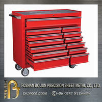 ISO certificated custom aluminum checker plate tool box , tool cabinets made in china