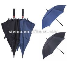 30 Inches Double Canopy Windproof Golf Umbrella