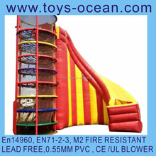 Inflatable slide Toadlick/inflatable interactive slide game/2015 new design inflatable