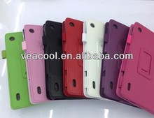 Litchi Pattern PU leather case skin PU Leather Stand Case 2 in 1 Pen For Acer Iconia A1 A1-810 (7.9 inch) Case