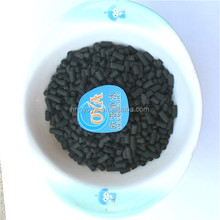 Impregnated sulphur activated carbon for mercury removal / demercuration
