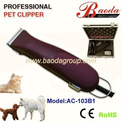 dog grooming supplier with new design clippers