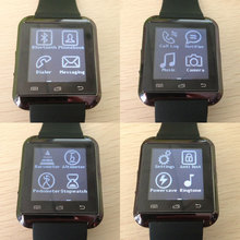 vibration call ID display ,android ,bluetooth ,music smart bracelet with plastic material